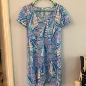 Lily Pulitzer boat dress size S